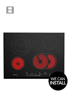 hotpoint-newstylenbspcro742dob-70cmnbspbuilt-in-ceramic-hob-with-optional-installation-black