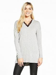 v-by-very-eyelash-lace-trim-tunic-jumper