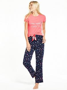 v-by-very-to-the-moon-and-back-t-shirt-pyjama-set
