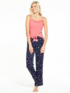 v-by-very-to-the-moon-and-back-cami-pyjama-set