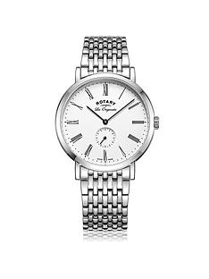 rotary-windsor-swiss-movement-white-multi-dial-stainless-steel-bracelet-mens-watch