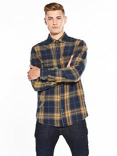 joe-browns-mustard-check-shirt