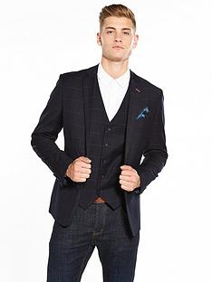 joe-browns-check-suit-blazer