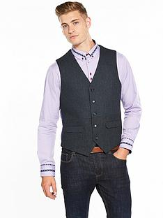 joe-browns-blue-waistcoat
