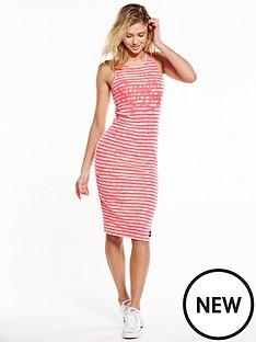 superdry-lagoon-logo-midi-dress
