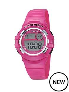 lorus-digi-pink-strap-childrens-watch
