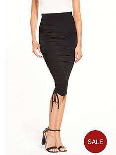 v-by-very-ruched-one-side-skirt