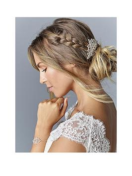 Jon Richard Rosalia Filigree Hair Slide