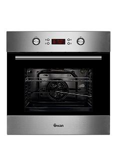 swan-sxb7070ss-60cm-built-in-single-electric-pyrolytic-oven-stainless-steelnbsp