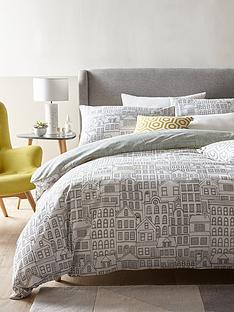ideal-home-sketchy-town-duvet-cover-set