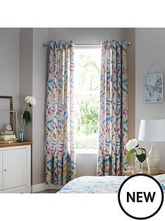 ideal-home-watercolour-leavesnbsp66x90nbspcurtains