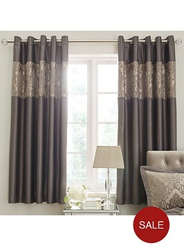 ideal-home-victoria-chenille-damask-lined-eyelet-curtains