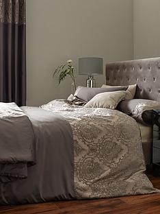 ideal-home-victoria-chenille-damask-duvet-cover-set
