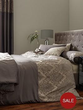 ideal-home-victoria-chenille-damask-duvet-cover-set