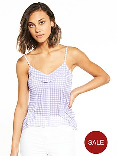 river-island-gingham-cami