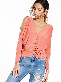 river-island-ruched-batwing-top