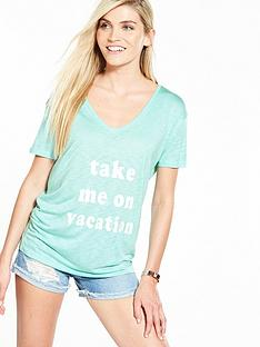v-by-very-vacation-slogan-t-shirt-mint