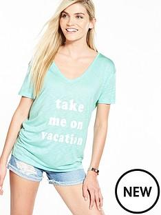 v-by-very-vacation-slogan-t-shirt-mint