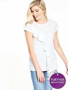 v-by-very-asymmetric-frill-top-white