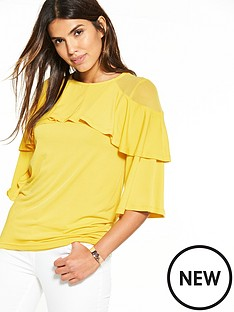 v-by-very-double-frill-layer-top