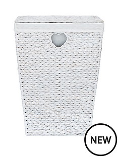 white-heart-lidded-laundry-hamper