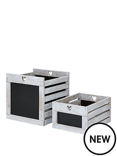 set-of-2-chalkboard-crates