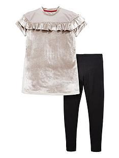 v-by-very-ruffle-velour-dress-and-legging-set