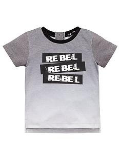 mini-v-by-very-boys-dip-dye-rebel-slogan-tee
