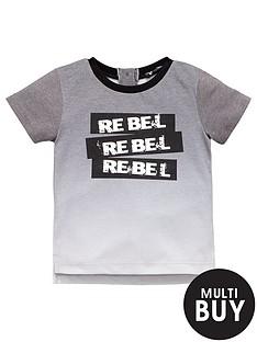 mini-v-by-very-boys-dip-dye-rebel-slogan-tee