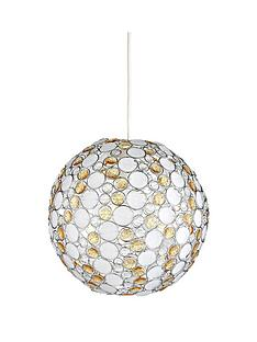 portofino-champagne-amp-frosted-easy-fit-light-shade