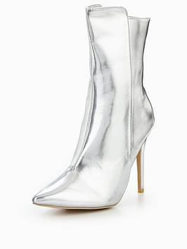 glamorous-metallic-heeled-ankle-boot