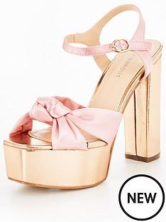 glamorous-glamorous-metallic-platform-sandal