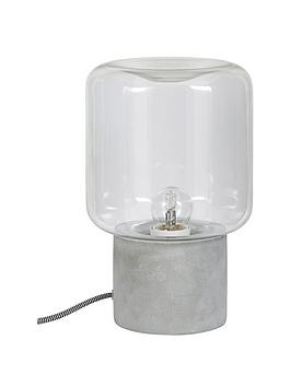 ideal-home-hoxton-concrete-base-table-lamp