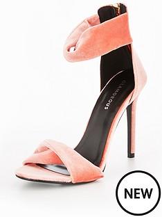 glamorous-glamorous-two-part-heeled-sandal
