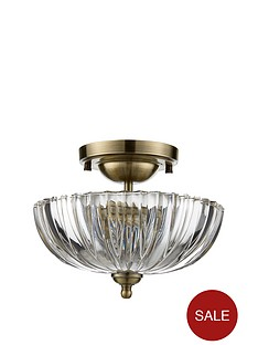 venice-flush-ceiling-light
