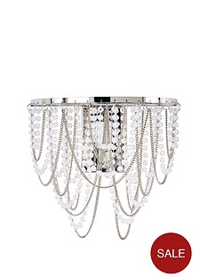 sienna-beaded-metal-chain-wall-light