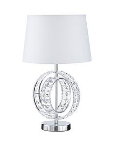 amore wedding rings table lamp