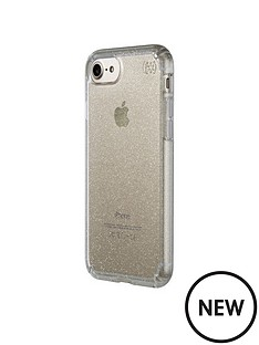 speck-presidio-clear-amp-glitter-case-with-glitter-crystals-for-iphone-7-clear-with-gold-glitterclear