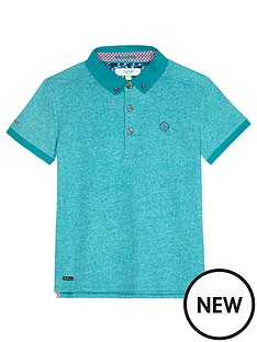 baker-by-ted-baker-boys-marl-icon-polo