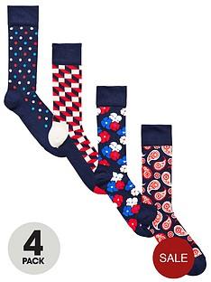 happy-socks-4pk-floral-gift-sock