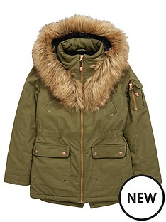 v-by-very-girls-khaki-parka