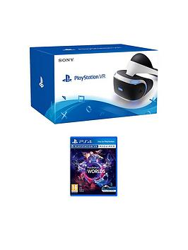 Playstation 4 Vr Headset  Playstation Vr Worlds