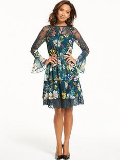myleene-klass-tiered-lace-dress
