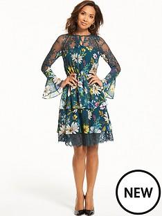 myleene-klass-tiered-lace-dress