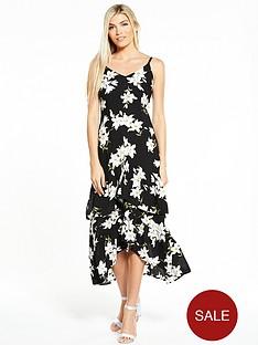 ax-paris-frill-front-maxi-dress