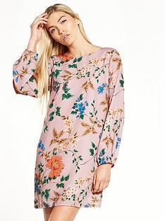 little-mistress-floral-shift-dress