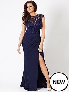 jessica-wright-mariella-lace-top-maxi-dress