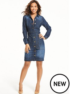 myleene-klass-denim-dress