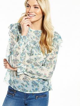 v-by-very-crinkle-ruffle-blouse
