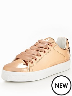 v-by-very-liquid-metallic-lace-up-trainer-rose-gold